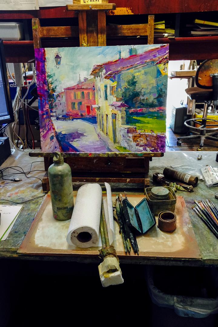 200605-01_Stroll_Through_Town_Provence_20x16