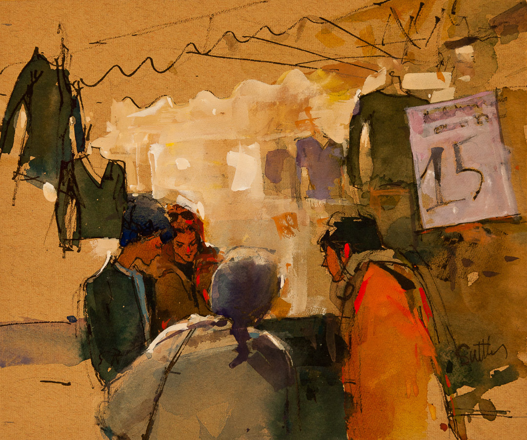 Market Day, Provence